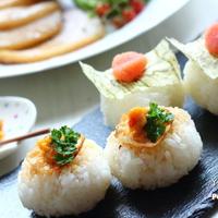 【赤い柚子胡椒】焼きおにぎりレシピ&宮崎のおいしいものたち