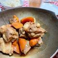 【甘辛ごはがすすむ】豚なんこつと人参の角煮風は調味料3つで簡単