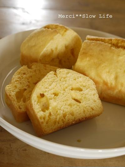 夏休みおやつシリーズ♪ バター不使用!レモンパウンドケーキ
