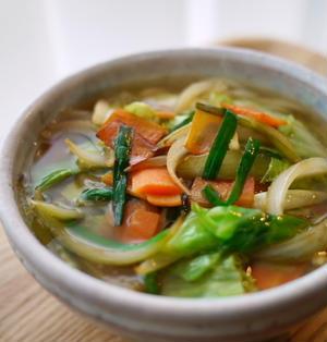 味噌バター野菜炒めうどん