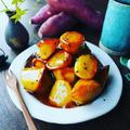 さつま芋レシピ3連発❤️蜜たっぷり♪お芋屋さんの大学芋❤️
