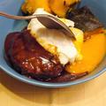 【うちレシピ】とろ~りポーチドエッグのせ★ハンバーグ