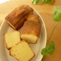 激うまバターパウンドケーキ
