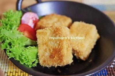 高野豆腐のチーズフライ