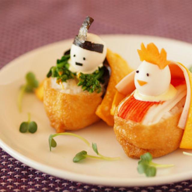 ひな祭り ひな寿司 & 電子レンジで作る「薄焼きたまご」