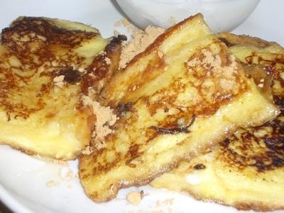 きな粉のフレンチトースト