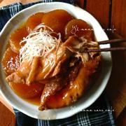 炊飯器で!鶏肉と大根のほろほろ煮。簡単レシピ。