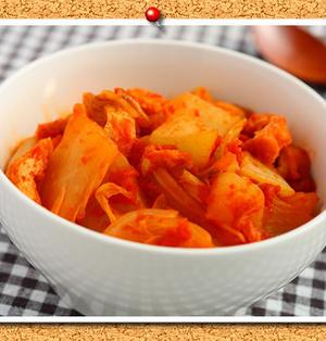 大根と白菜の和風トマト煮。