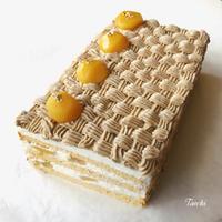 【イーストレシピ】ソフト 柔山食パンとモンブランケーキ