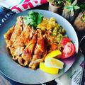 春休みのランチにも♪炊飯器で1発シリーズ♪タンドリーチキンとビリヤニ(インド風炊き込みごはん)❤