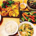 1週間献立⑥コンソメスープアレンジ色々、ぷるとろ水餃子の中華スープで満足度アップ