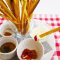 【11月11日は手作りおやつにチャレンジ!】味が選べる薩摩芋プリッツ by なめっこ星人さん