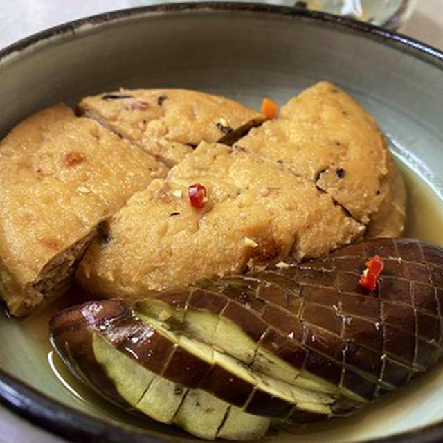 麺つゆでがんもどき・ナスの煮物&ジュースでゼリー♪