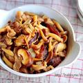 ♡作り置き・お弁当にも♡豚こまときのこの甘辛生姜煮♡【#簡単#時短#節約】