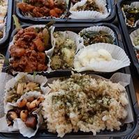 本日の organici vegan lunch box 朝 配達分