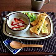 トマトクリームシチュウと白菜サラダで朝ごはん*最近食べたものなど
