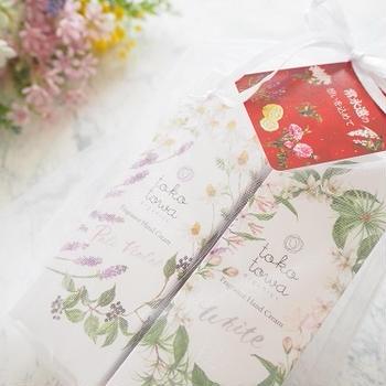 ♪オーガニックハンドビューティーセット ~至福の香りの2本セット~
