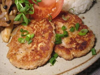 里芋と豆腐のヘルシー梅おやき