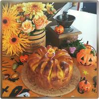 かぼちゃのクラウン、フラワーアレンジメント第2弾