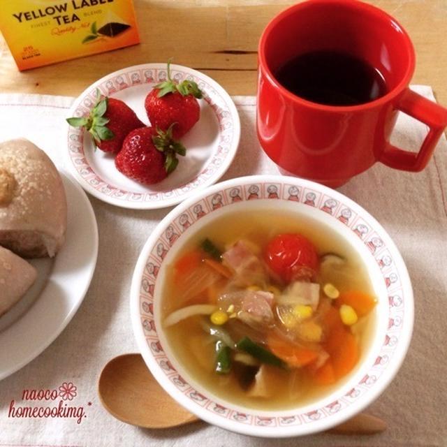リプトン イエローラベル♪ 「ひらめき朝食」レシピモニター