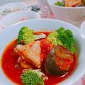 チキンとナスのトマト煮【レシピ】