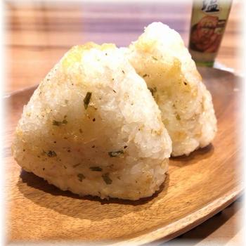 【モニターレシピ】ねぎ塩焼きおにぎり