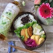 白菜とチンゲン菜の豚バラ塩あんかけ*お弁当