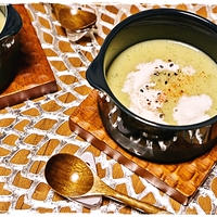 ■小松菜のポタージュ■冷製スープにも♪
