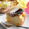 レシピブログでの連載更新しました♪夏に食べたい!マンゴー缶でトロピカルバスクチーズケーキ