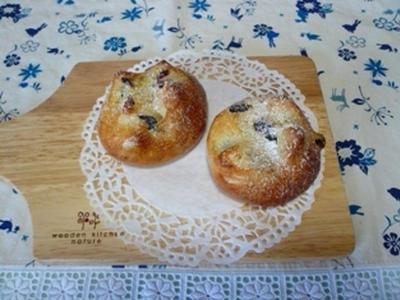 >ルクエで作る「レーズンとクランベリーのパン」。 by よりさん
