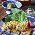 擬製豆腐 と たこと新たまねぎのマリネ。