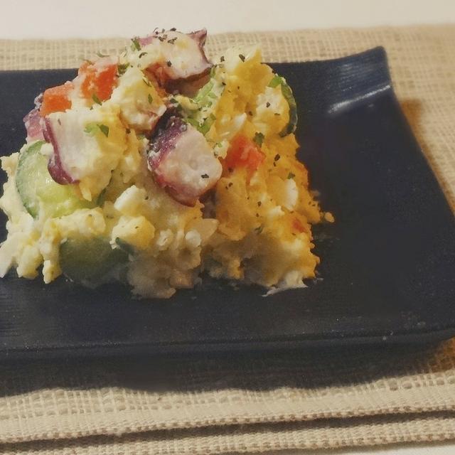 タコ玉のポテトサラダ
