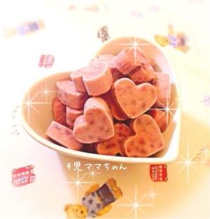 井村屋あずきバー風アイスキャンディー☆レシピ