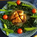 蒸し蝦夷鮑の柚子バター醤油焼き:リメイク