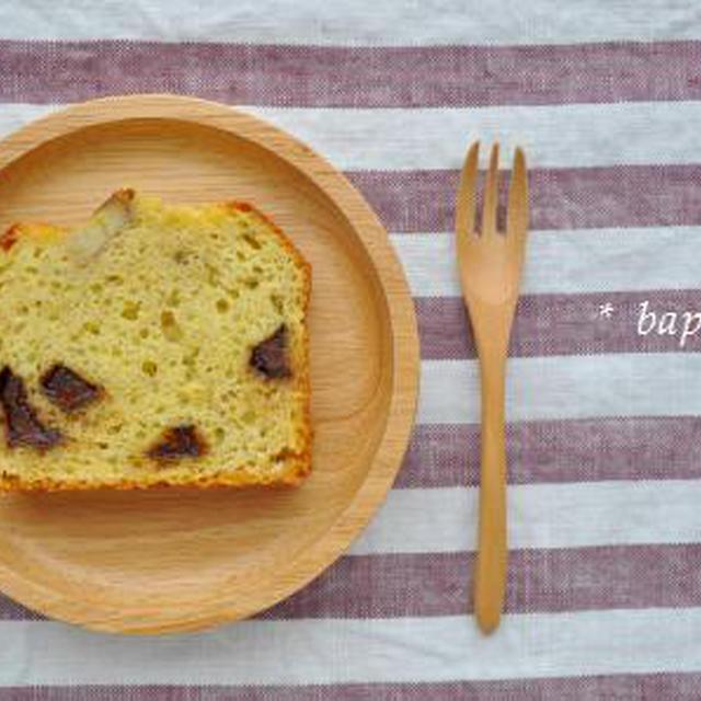 ホットケーキミックスでバナナパウンドケーキ