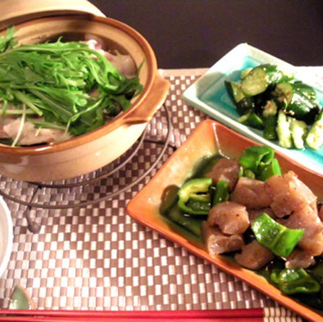 水菜はりはり鍋