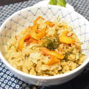 ホヤご飯。炊き込みではなく混ぜご飯なので簡単、ホヤの風味が活きてます。