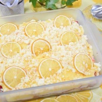 【cottaレシピ】レモンといちごのティラミス