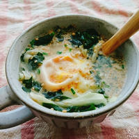 巣ごもりたまご焙煎ごまスープ