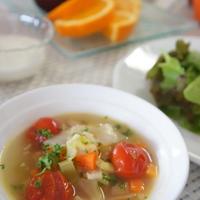 クリンスイで、ミニトマトと野菜のスープ ★超軟水 クリンスイ★
