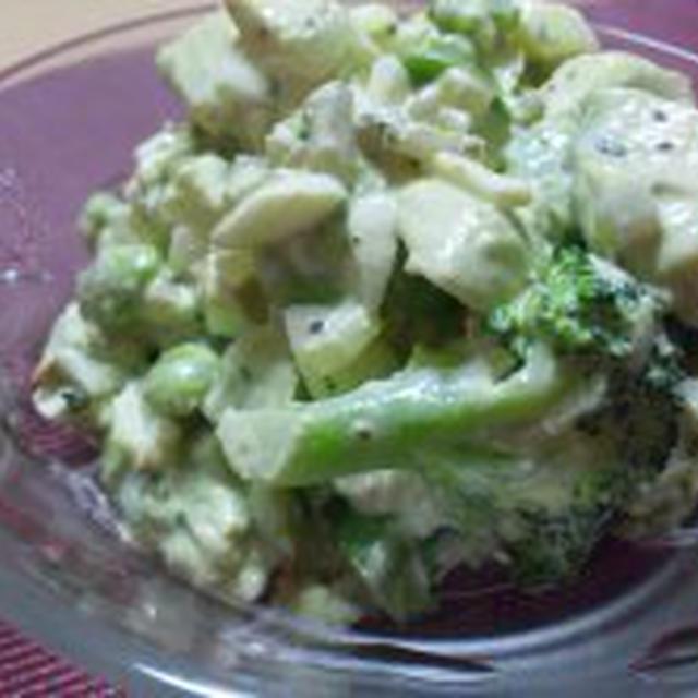 「緑のタルタルサラダ」