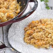 STAUB・ウォックパン|中華鍋で作る絶品カレーピラフ|中華鍋でピラフ(ご飯)が炊けちゃう!