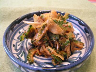 ゴーヤーの味噌ナムル