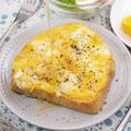 超簡単♪クワトロフォルマッジトースト(╹◡╹)チーズ好きにはたまりませ〜ん