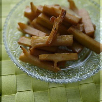 自家製メンマと鶏チャーシューつけ麺。