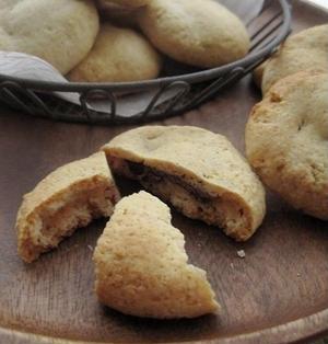 ホットケーキミックスでざくほろクッキーINチョコ