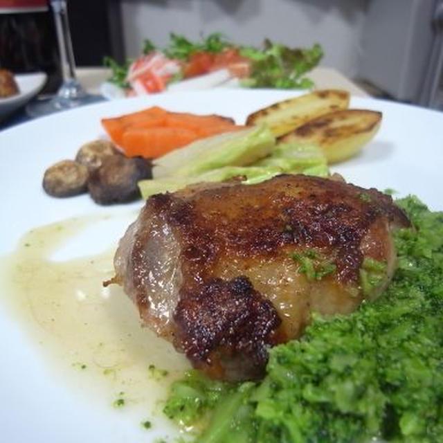 チキンソテーのブロッコリーソース(レシピ)