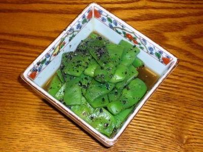 [レシピ][箸休め] インゲンの胡麻和え