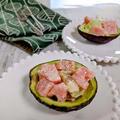 【スイカとアボカドのサラダ】マヨで合えるだけの火を使わない簡単レシピ。