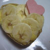 バナナカスタードケーキ